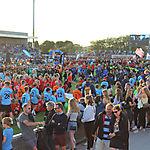 003_Foto vom Marsch im Stadion