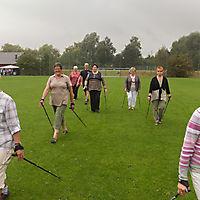 Nordic Walking schnuppern beim Sportheimfest